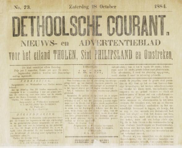 Ierseksche en Thoolsche Courant 1884-10-18