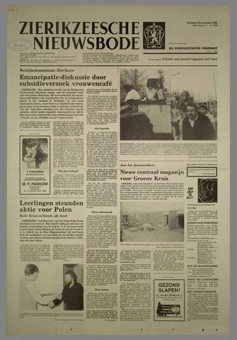 Zierikzeesche Nieuwsbode 1982-11-30
