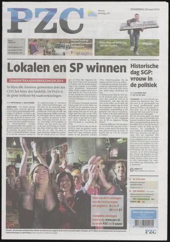 Provinciale Zeeuwse Courant 2014-03-20