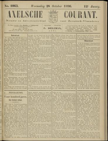 Axelsche Courant 1896-10-28