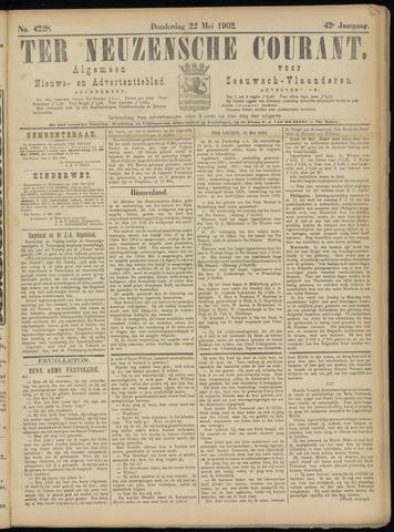 Ter Neuzensche Courant. Algemeen Nieuws- en Advertentieblad voor Zeeuwsch-Vlaanderen / Neuzensche Courant ... (idem) / (Algemeen) nieuws en advertentieblad voor Zeeuwsch-Vlaanderen 1902-05-22