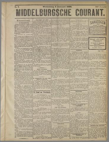 Middelburgsche Courant 1922-01-04