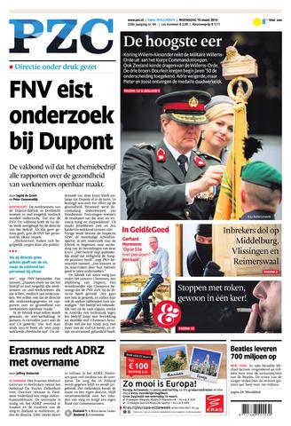 Provinciale Zeeuwse Courant 2016-03-16