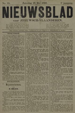 Nieuwsblad voor Zeeuwsch-Vlaanderen 1892-05-28