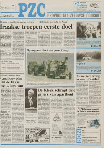 Provinciale Zeeuwse Courant 1991-02-02