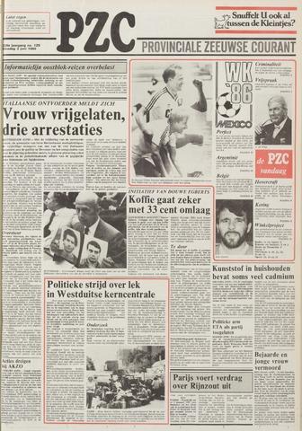 Provinciale Zeeuwse Courant 1986-06-03