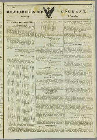 Middelburgsche Courant 1846-11-05
