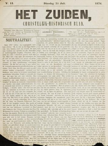 Het Zuiden, Christelijk-historisch blad 1876-07-25