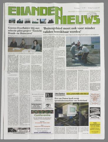 Eilanden-nieuws. Christelijk streekblad op gereformeerde grondslag 2007-11-27
