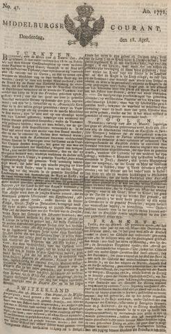 Middelburgsche Courant 1771-04-18