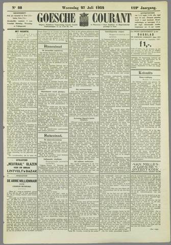 Goessche Courant 1932-07-27