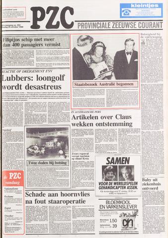 Provinciale Zeeuwse Courant 1988-10-25