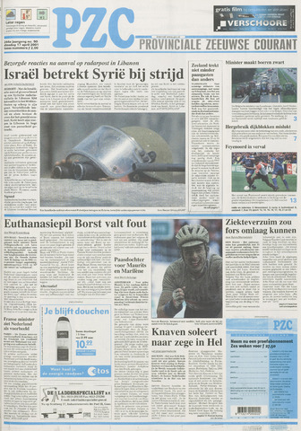 Provinciale Zeeuwse Courant 2001-04-17