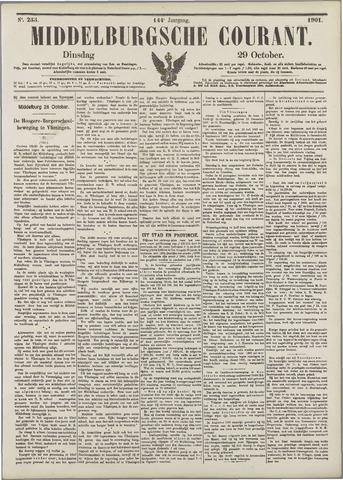 Middelburgsche Courant 1901-10-29