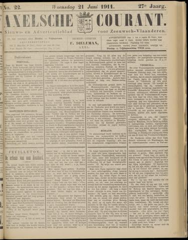 Axelsche Courant 1911-06-21