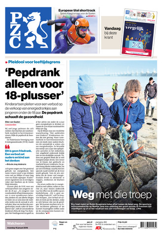 Provinciale Zeeuwse Courant 2018-01-15