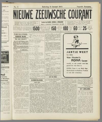 Nieuwe Zeeuwsche Courant 1913-01-11