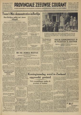 Provinciale Zeeuwse Courant 1950-05-02