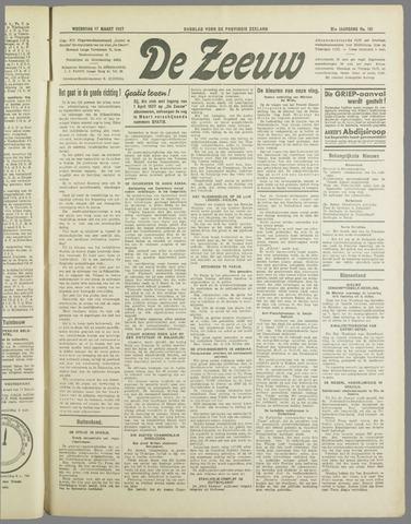 De Zeeuw. Christelijk-historisch nieuwsblad voor Zeeland 1937-03-17