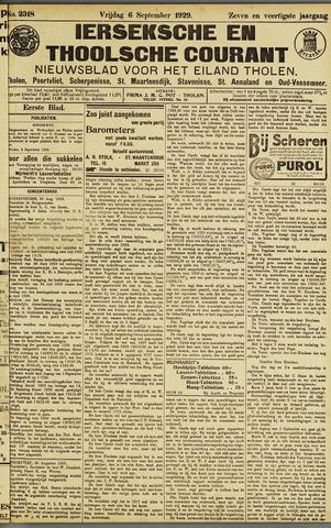 Ierseksche en Thoolsche Courant 1929-09-06