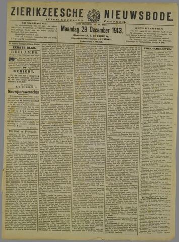 Zierikzeesche Nieuwsbode 1913-12-29