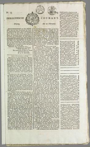Zierikzeesche Courant 1824-02-20