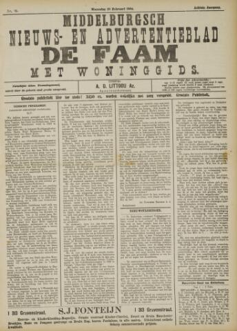 de Faam en de Faam/de Vlissinger 1904-02-10