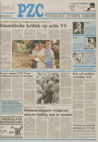 Provinciale Zeeuwse Courant 1993-06-28
