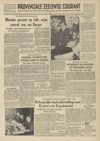 Provinciale Zeeuwse Courant 1954-11-25