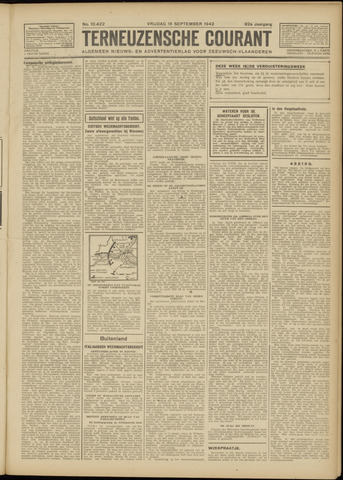 Ter Neuzensche Courant. Algemeen Nieuws- en Advertentieblad voor Zeeuwsch-Vlaanderen / Neuzensche Courant ... (idem) / (Algemeen) nieuws en advertentieblad voor Zeeuwsch-Vlaanderen 1942-09-18