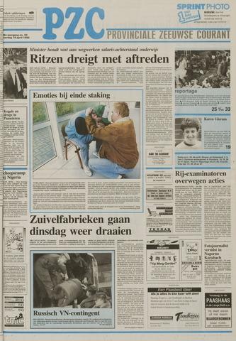 Provinciale Zeeuwse Courant 1992-04-18