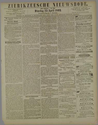 Zierikzeesche Nieuwsbode 1893-04-25