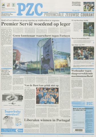 Provinciale Zeeuwse Courant 2002-03-18