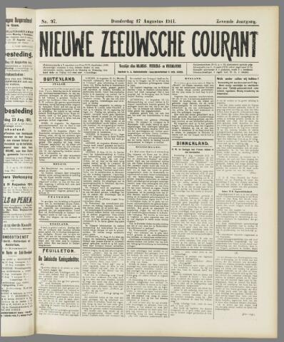 Nieuwe Zeeuwsche Courant 1911-08-17