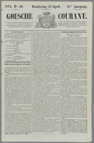 Goessche Courant 1874-04-23