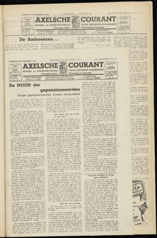 Axelsche Courant 1951-08-22