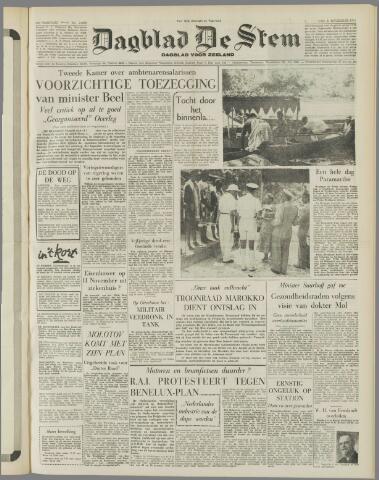 de Stem 1955-11-03