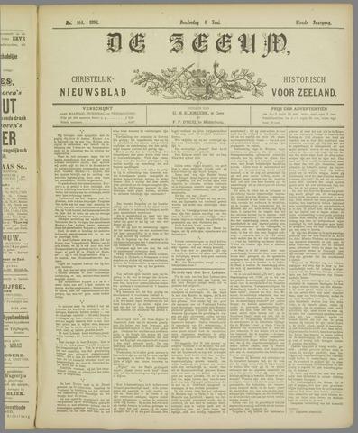 De Zeeuw. Christelijk-historisch nieuwsblad voor Zeeland 1896-06-04