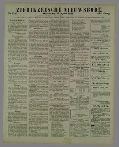 Zierikzeesche Nieuwsbode 1888-04-12