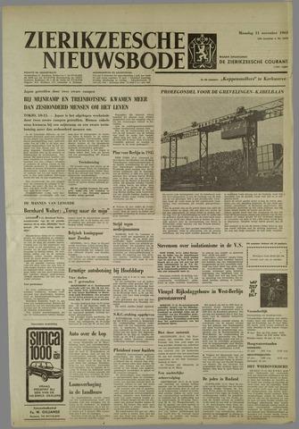 Zierikzeesche Nieuwsbode 1963-11-11