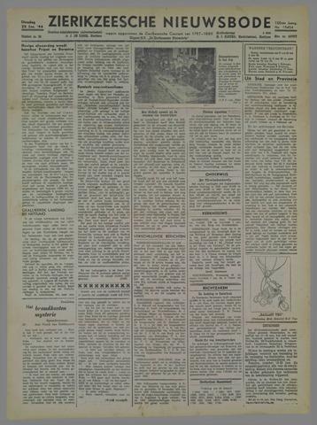 Zierikzeesche Nieuwsbode 1944-01-25