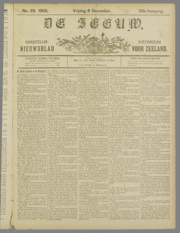 De Zeeuw. Christelijk-historisch nieuwsblad voor Zeeland 1905-12-08
