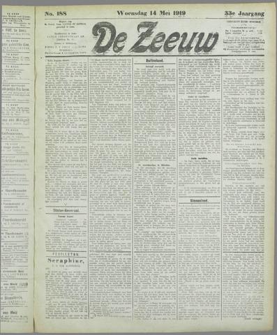 De Zeeuw. Christelijk-historisch nieuwsblad voor Zeeland 1919-05-14
