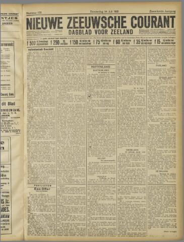 Nieuwe Zeeuwsche Courant 1921-07-14