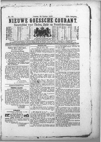 Nieuwe Goessche Courant 1876-10-24