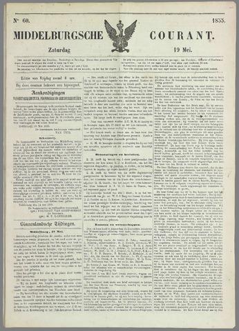 Middelburgsche Courant 1855-05-19