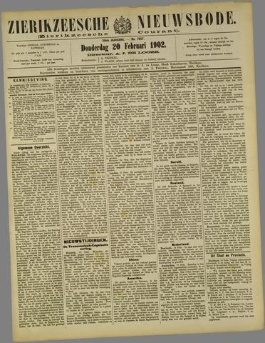 Zierikzeesche Nieuwsbode 1902-02-20