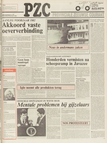 Provinciale Zeeuwse Courant 1981-01-28