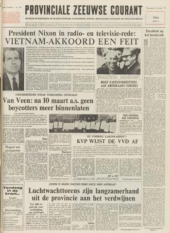Provinciale Zeeuwse Courant 1973-01-24