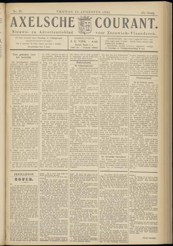 Axelsche Courant 1931-08-14
